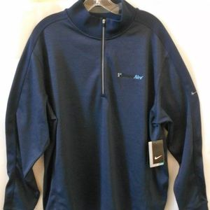 NIKE Mens DRI-FIT 1/4 Zip Pullover Golf Jacket